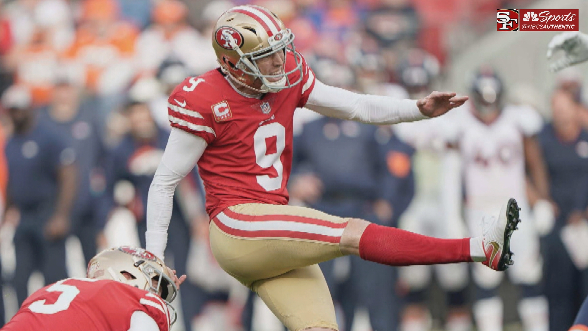 Robbie Gould and 49ers finally reach an agreement on a multi-year deal