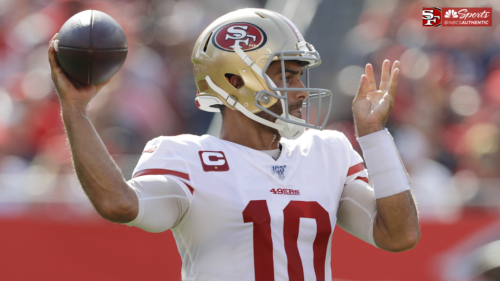 Kyle Shanahan details how Jimmy Garoppolo handled ups and downs of