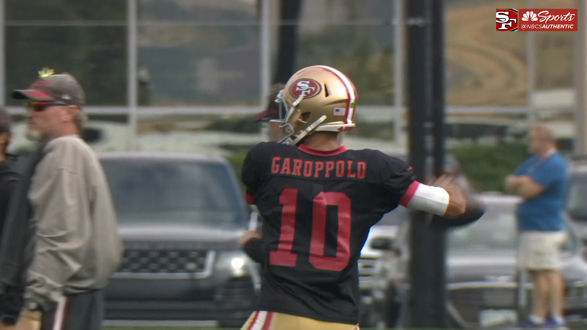 Kyle Shanahan: Jimmy Garoppolo learning from bad day at 49ers practice
