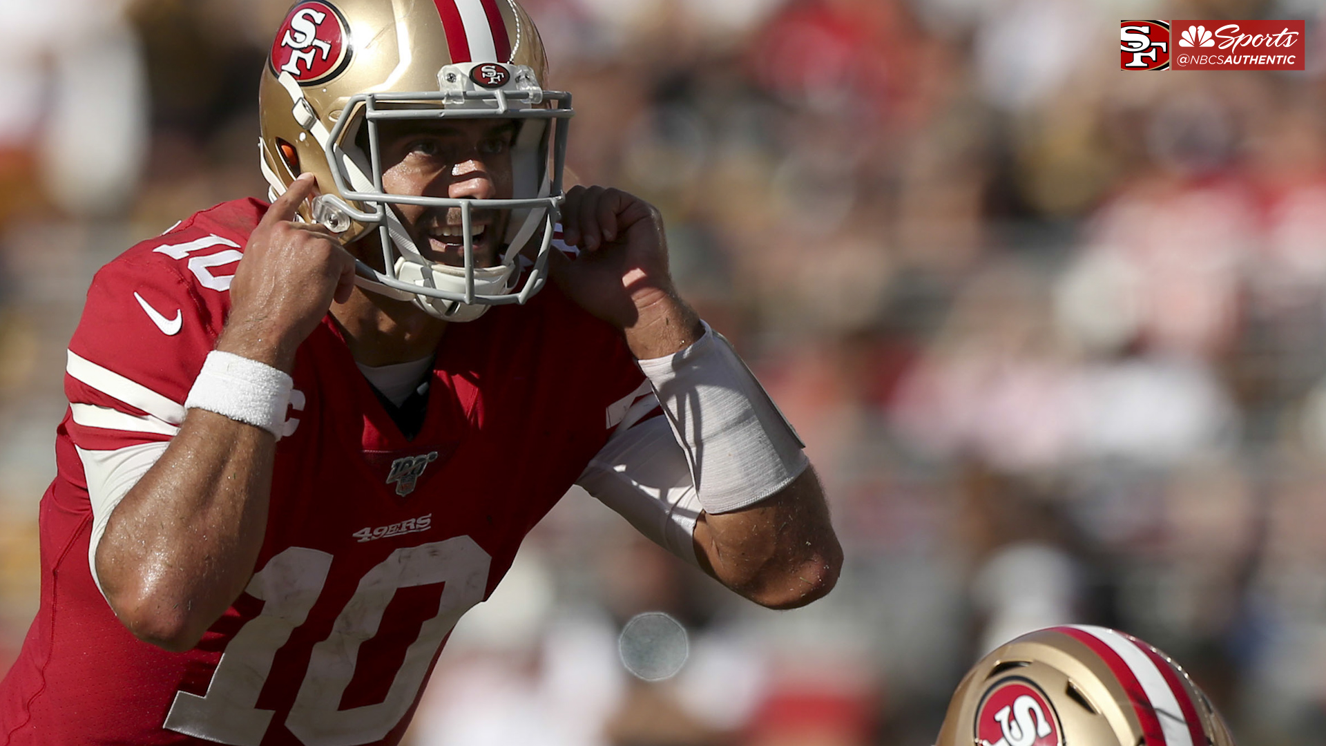 Kyle Shanahan details QB Jimmy G's poise in the pocket on third downs