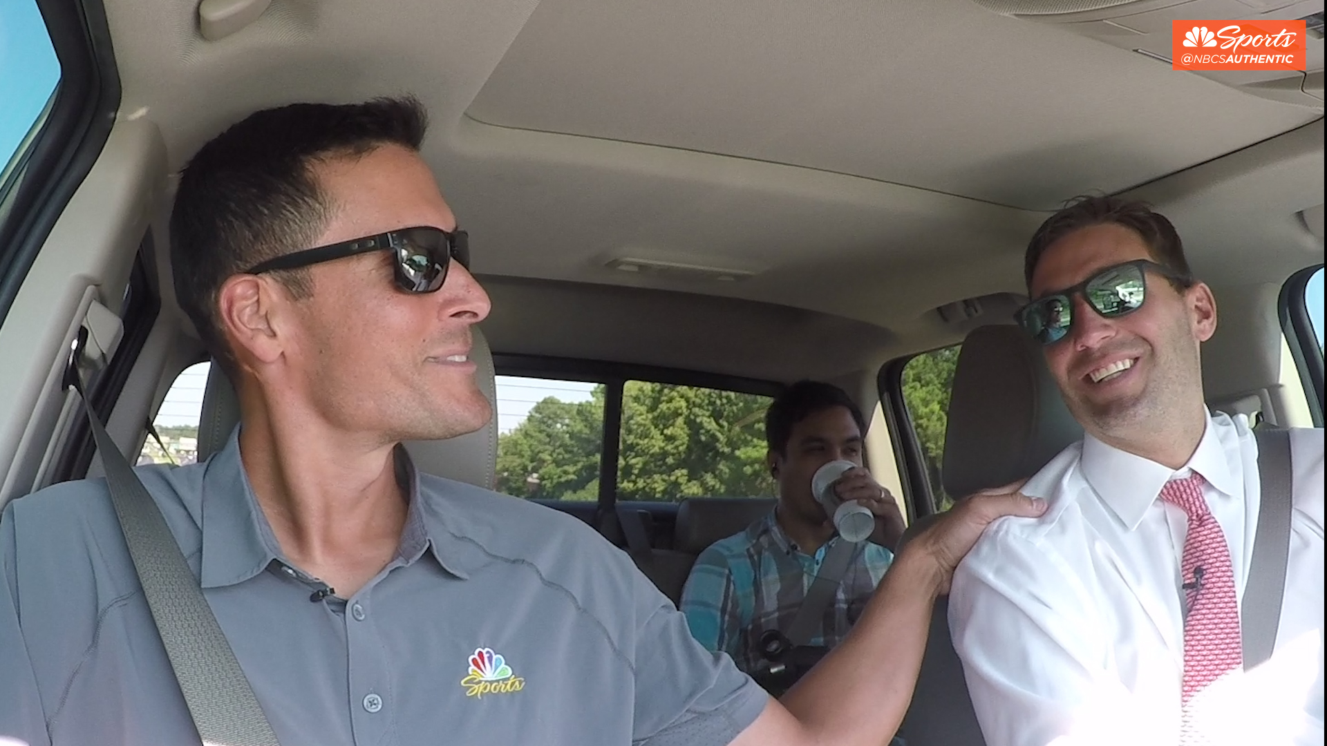 Carpool to the Park with Javier Lopez and Jeff Francoeur