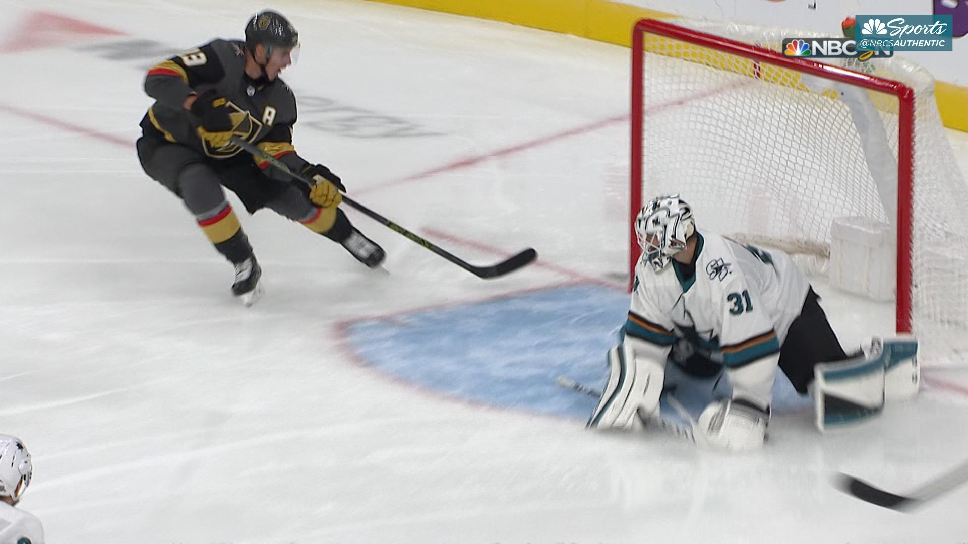 Sharks drop season opener in Sin City, lambasted by rival Golden