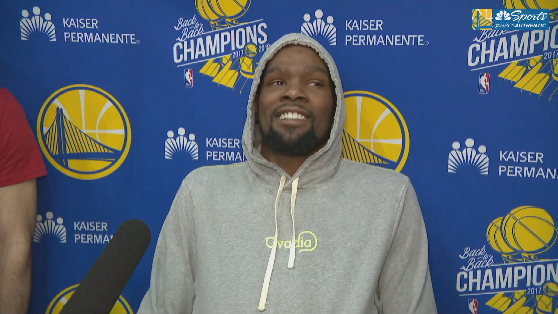 Kevin Durant weighs in on if the Warriors are playing better without him