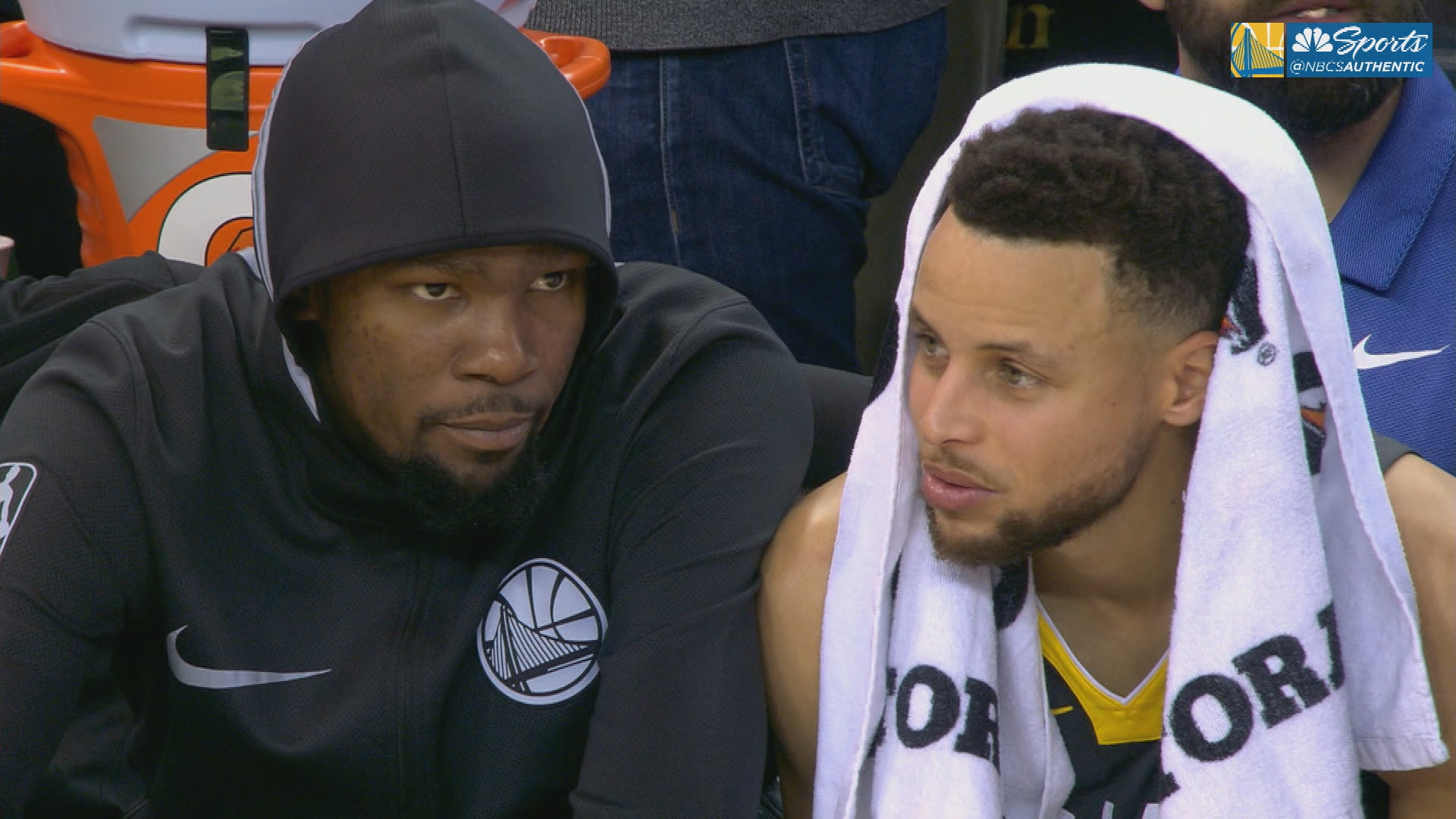"""Steph Curry on Kevin Durant: outside """"noise"""" won't breakup the Warriors"""