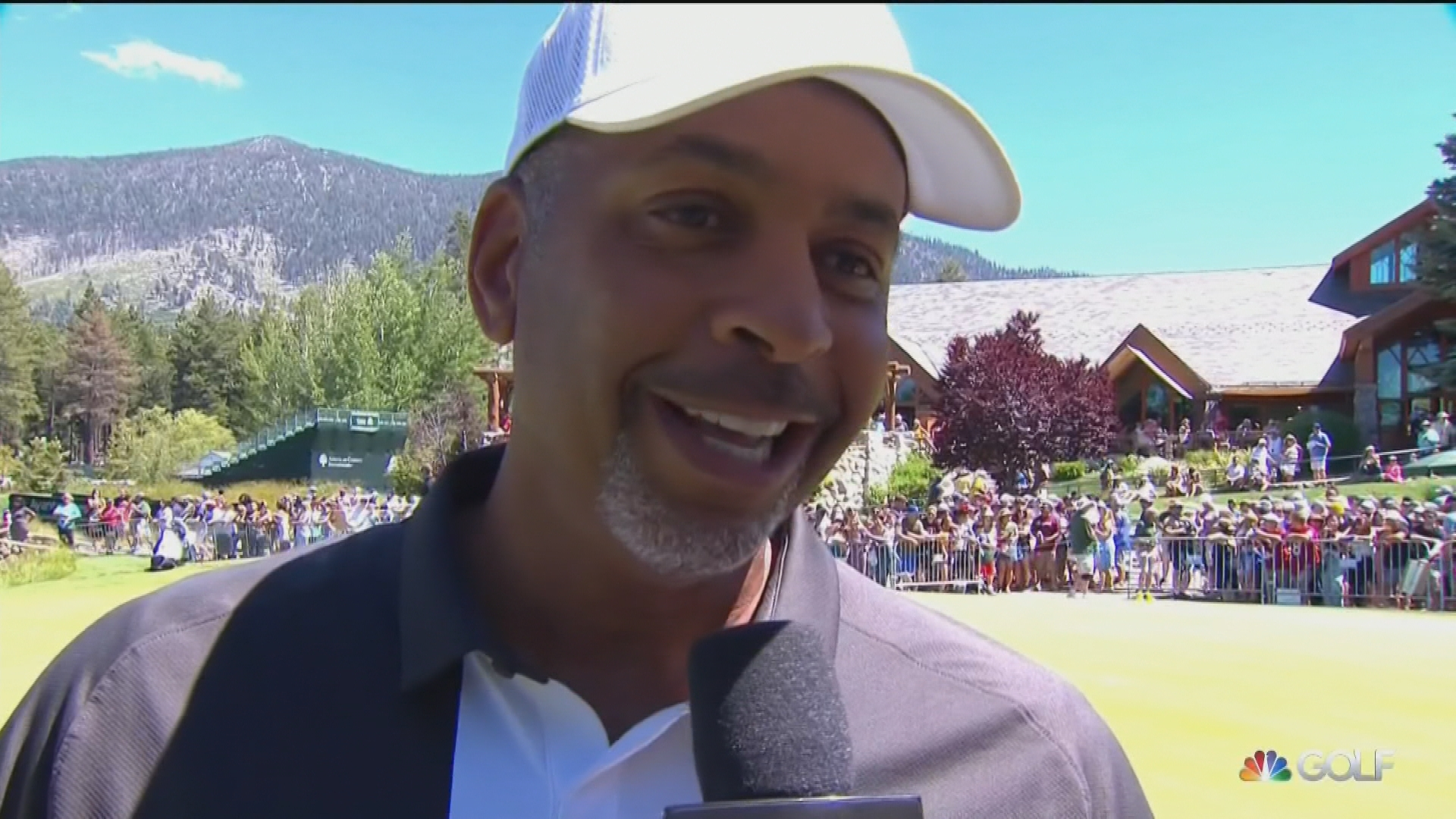 Dell Curry reveals bet with Steph at 2019 ACC golf tournament