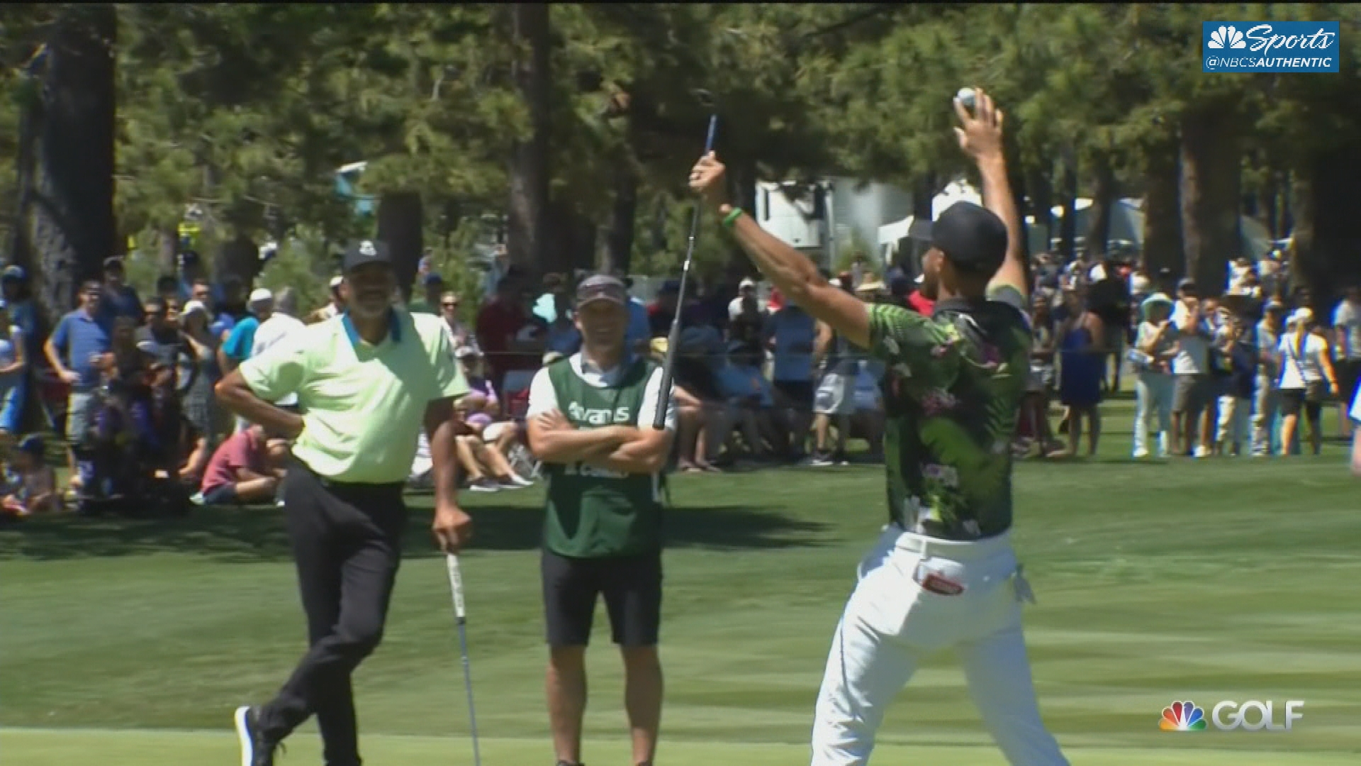 Curry vs Curry at the American Century Championship