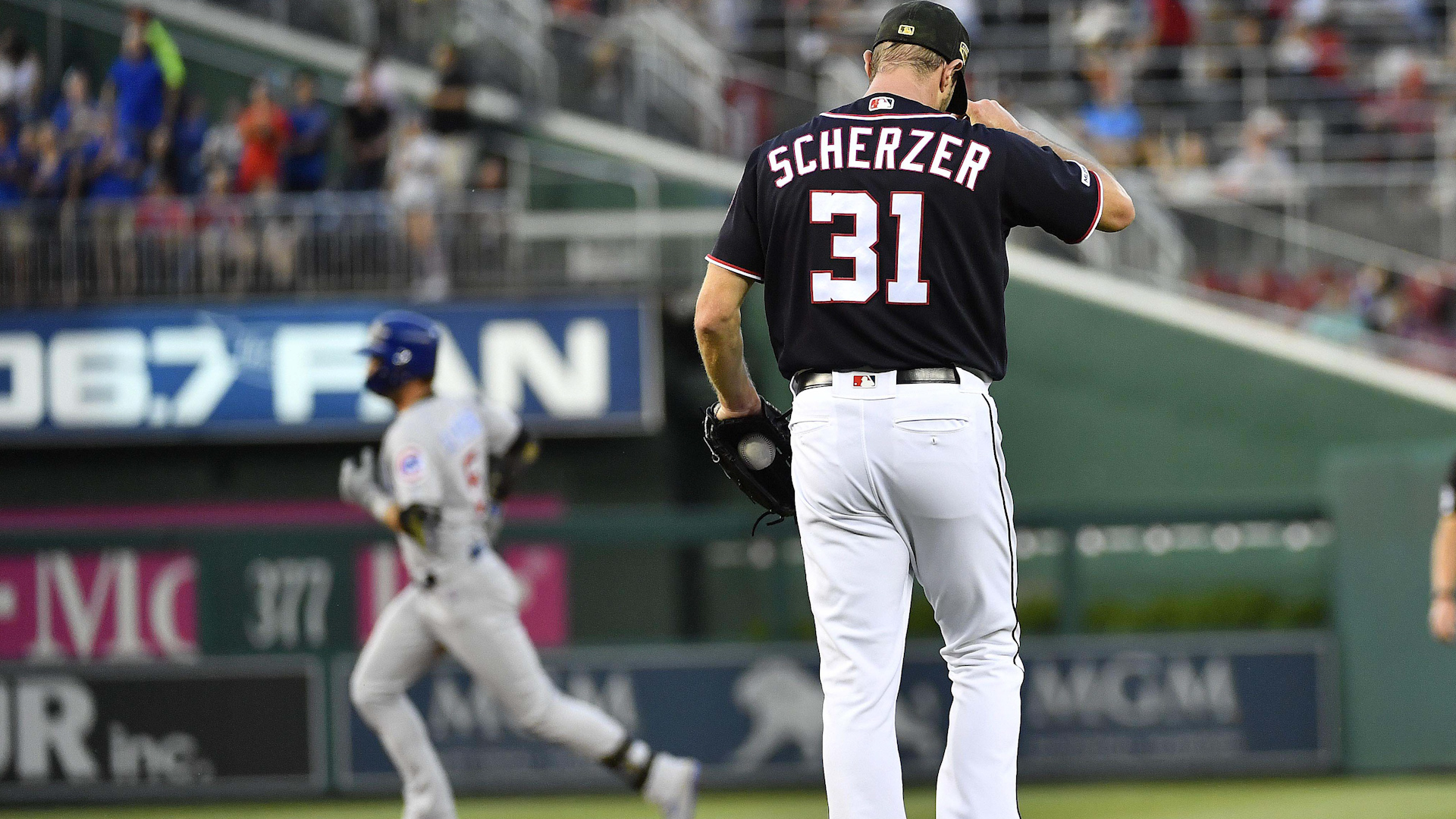 Max Scherzer has been consistent. The offense, not so much.