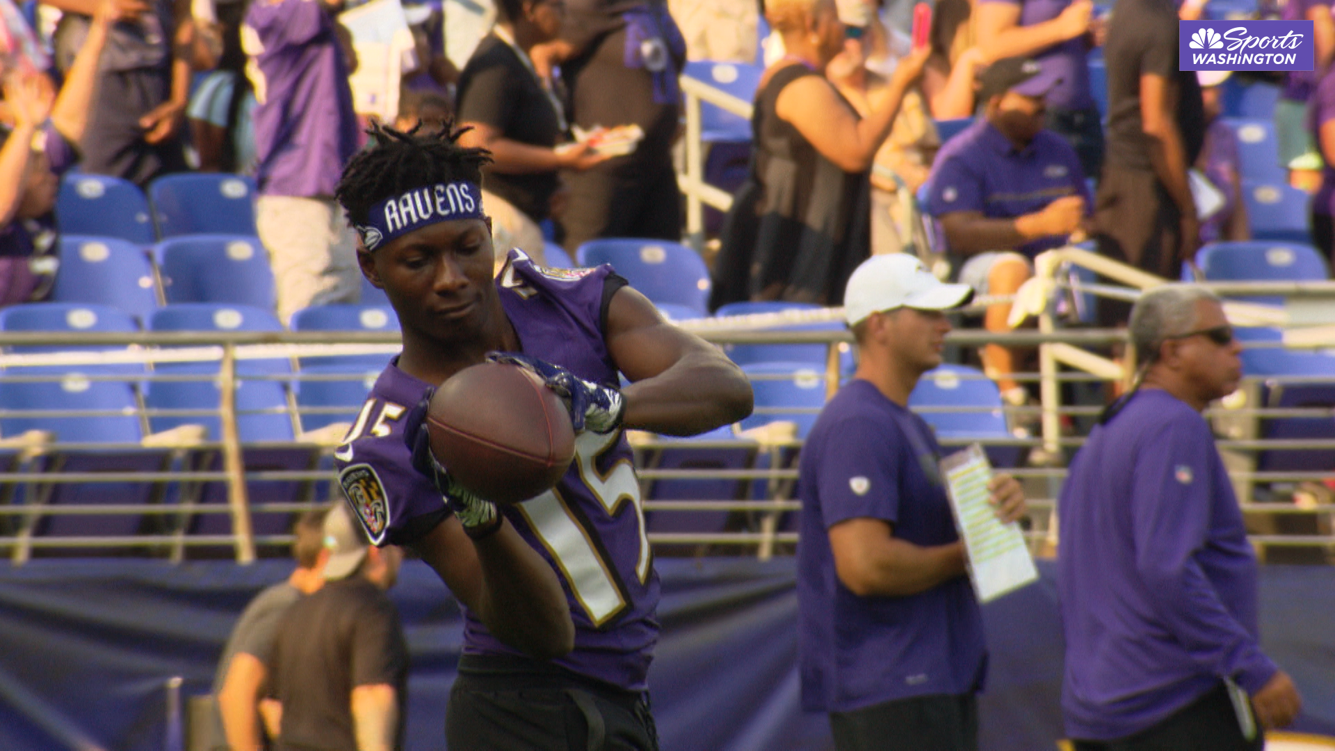 Marquise Brown discusses 'fun' but 'very emotional' Ravens debut