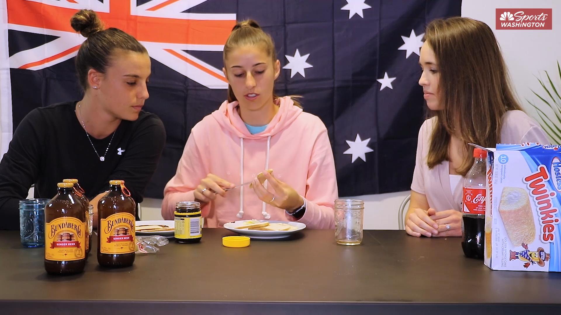 Australian Taste Test: Washington Spirit Aussies serve up Vegemite
