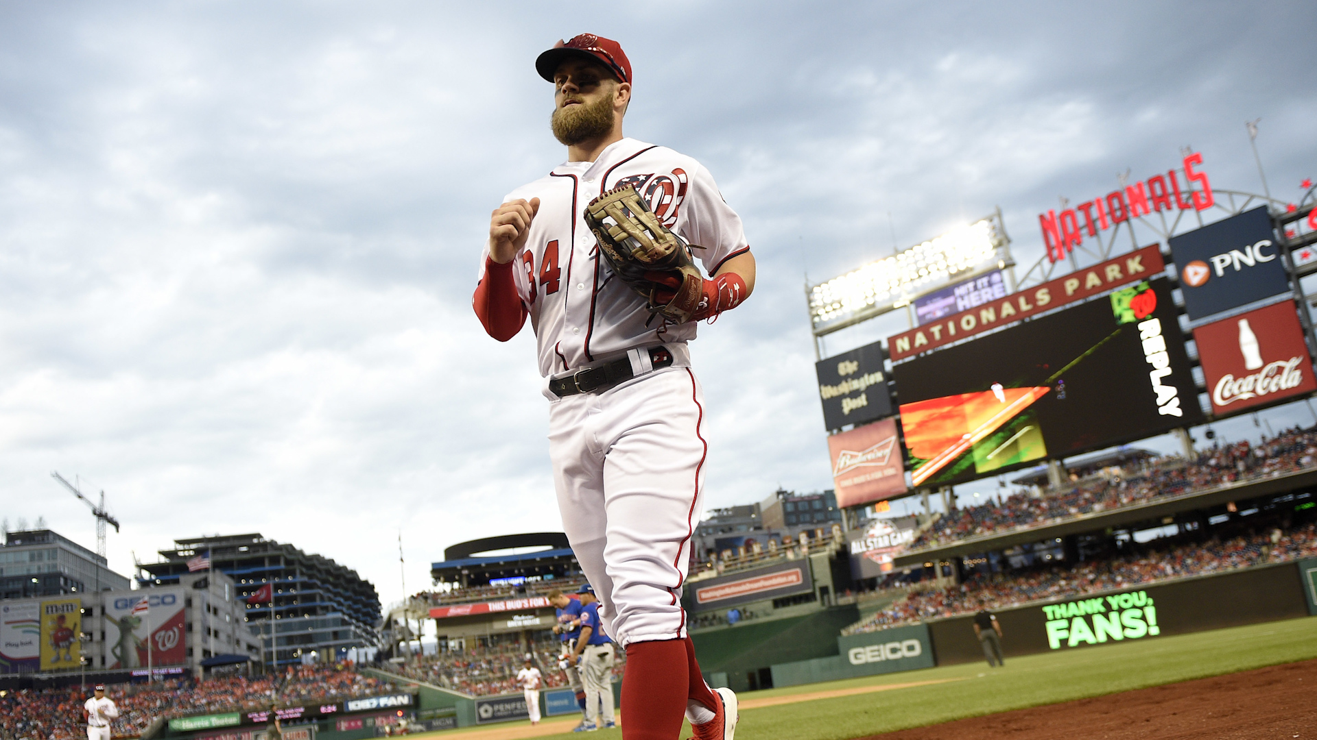 There's a new favorite in the mix to land Bryce Harper