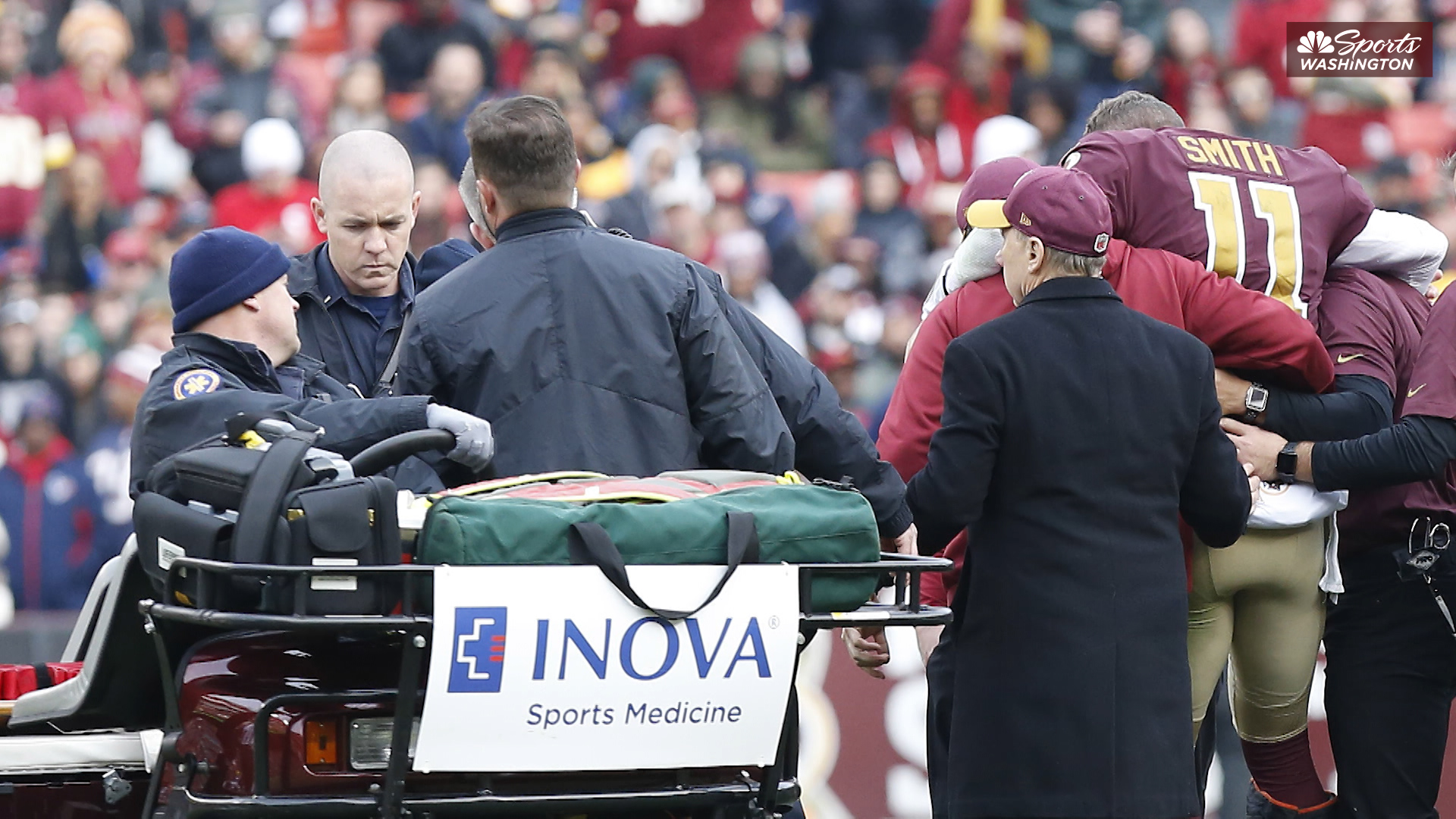 Insider's Take: Redskins QB Alex Smith wants to play football again