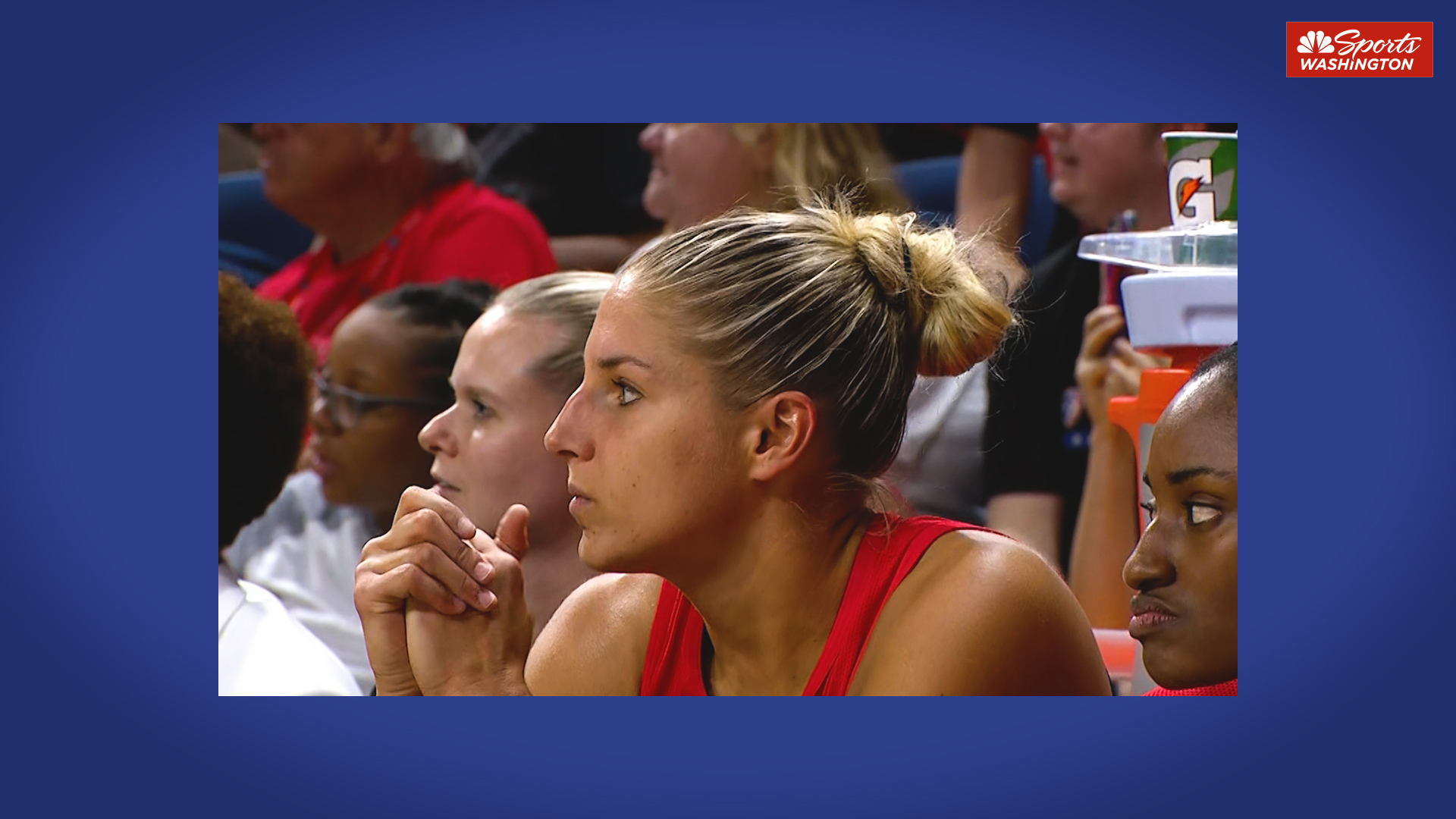 Elena Delle Donne earns 'MVP' chants from Mystics faithful