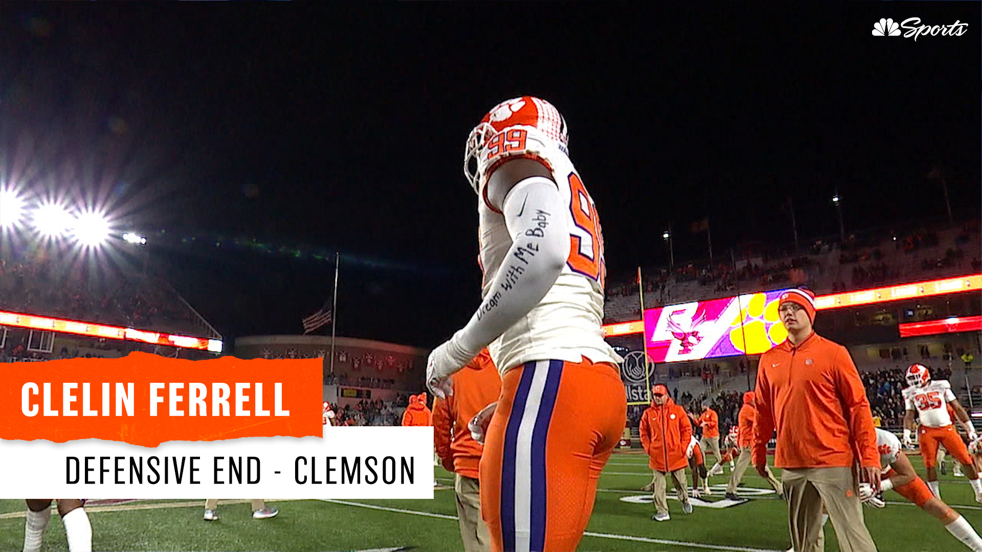 """Charley Casserly profiles Clemson's """"complete player,"""" Clelin Ferrell"""