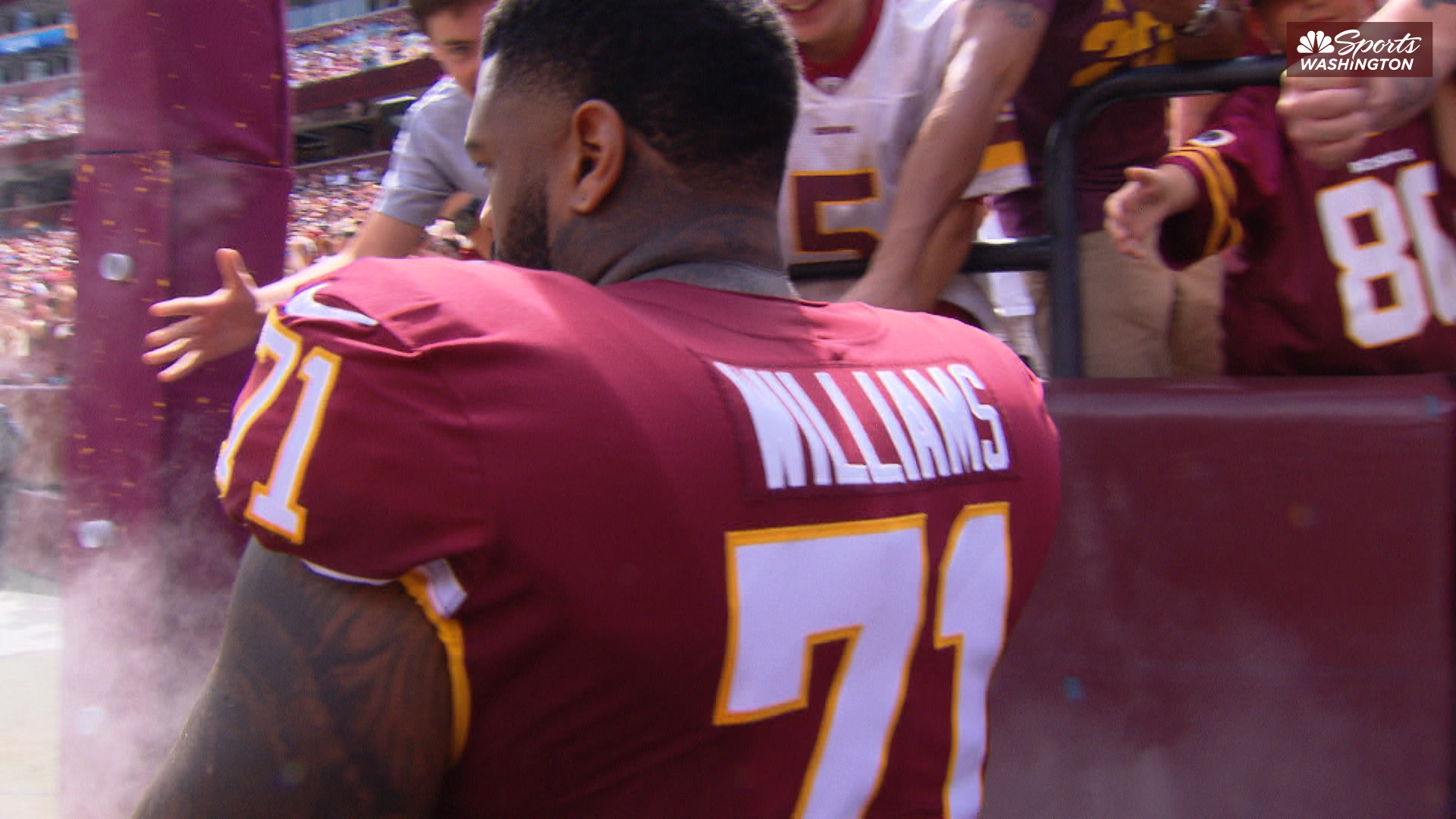 Did Redskins tackle Trent Williams have another surgery?