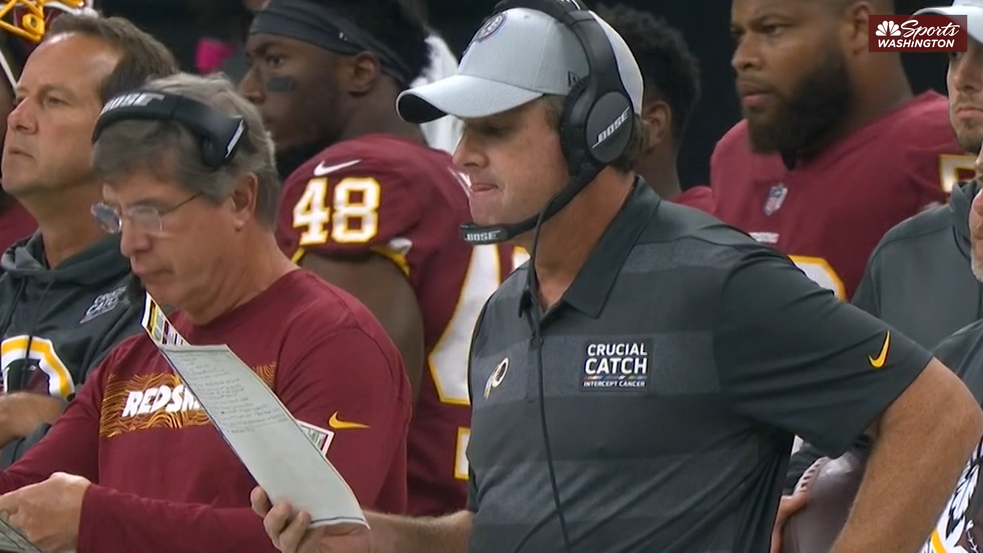 Is Jay Gruden being left in the dark on some of the Redskins' FA moves?