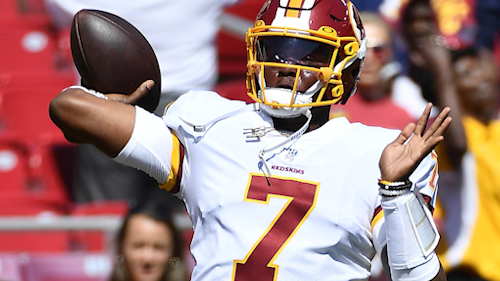 Terry McLaurin: Dwayne Haskins is 'doing everything possible' to be