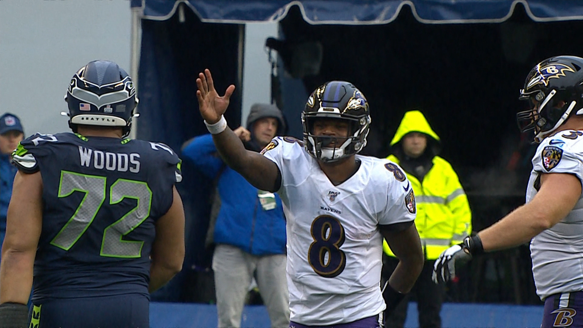 Baltimore Ravens lead AFC North as they head into their bye week