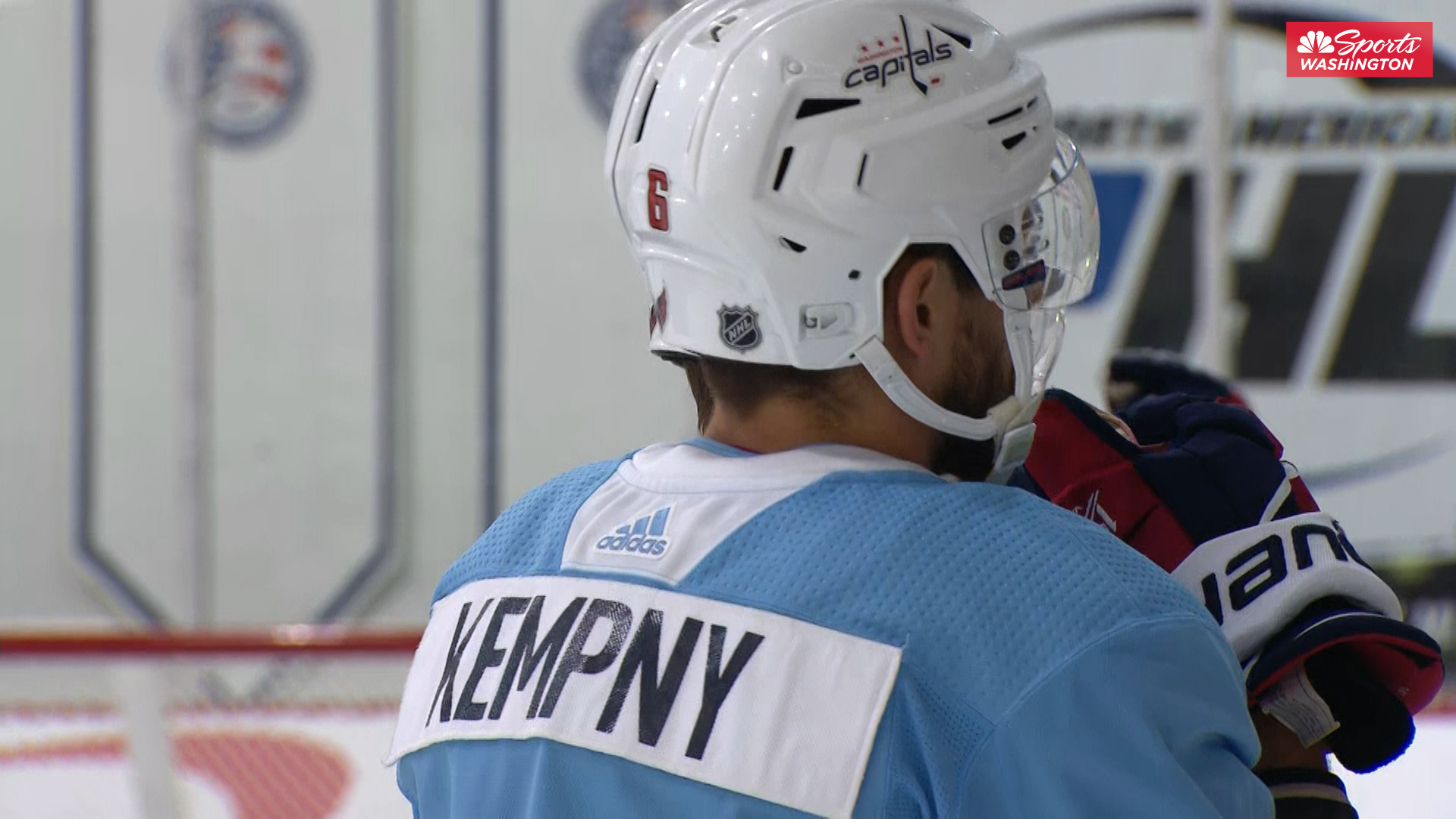 The sights and sounds from the Washington Capitals media day