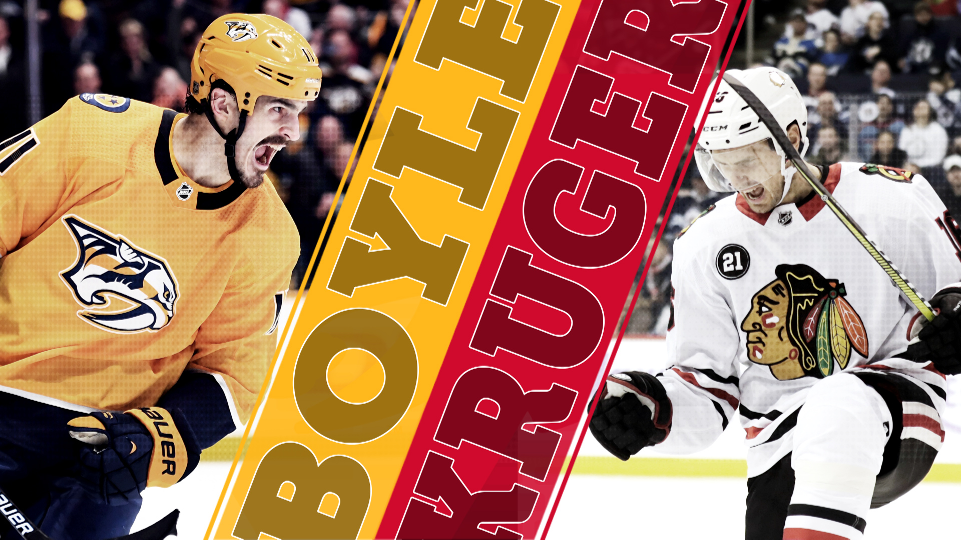 Capitals free agency goals: Brian Boyle vs Marcus Kruger