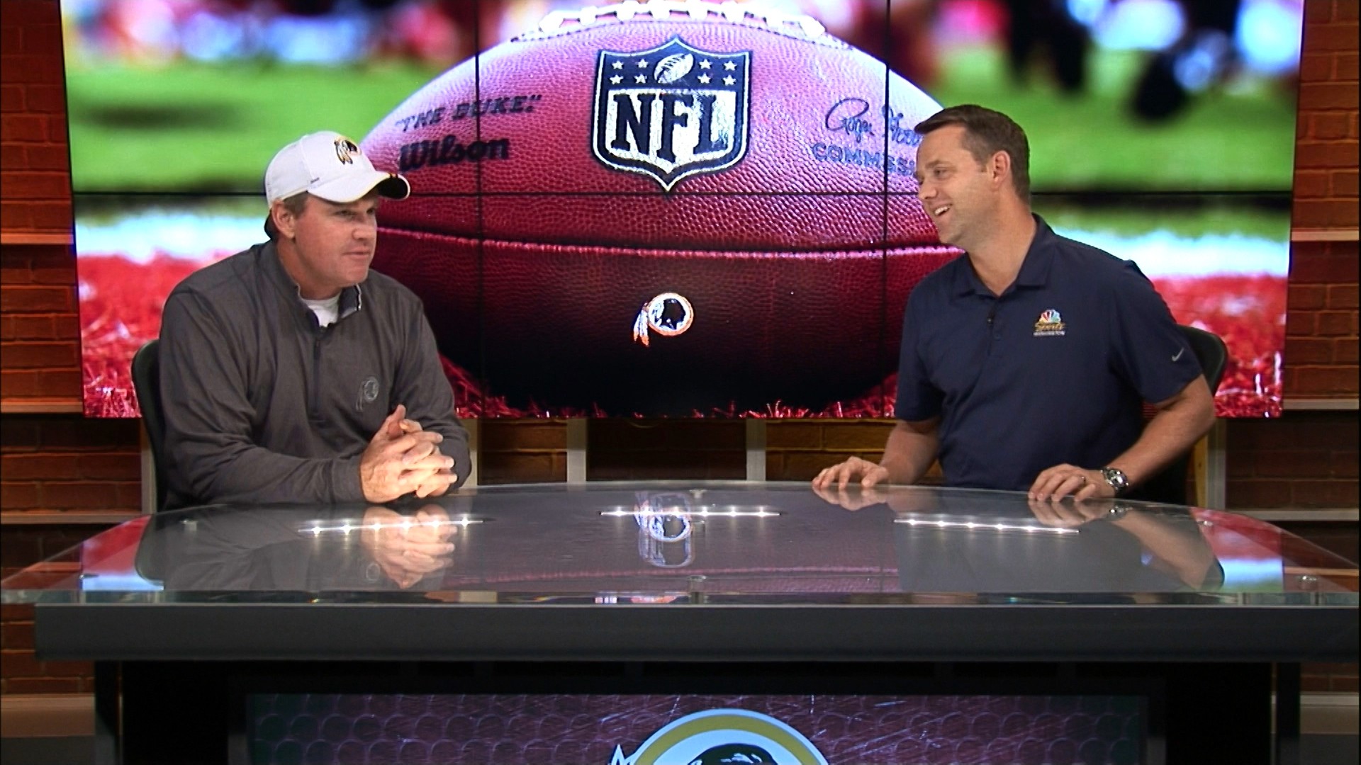 JP Finlay sits down with Jay Gruden following Week 2