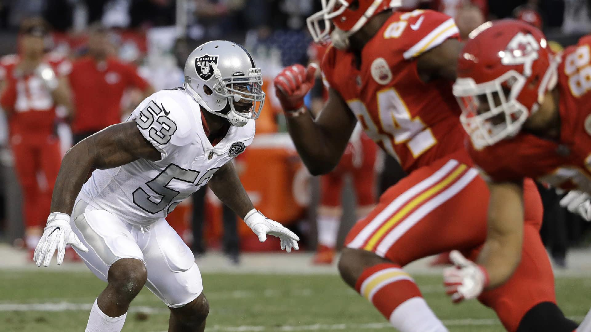NaVorro Bowman working out for Cleveland Browns