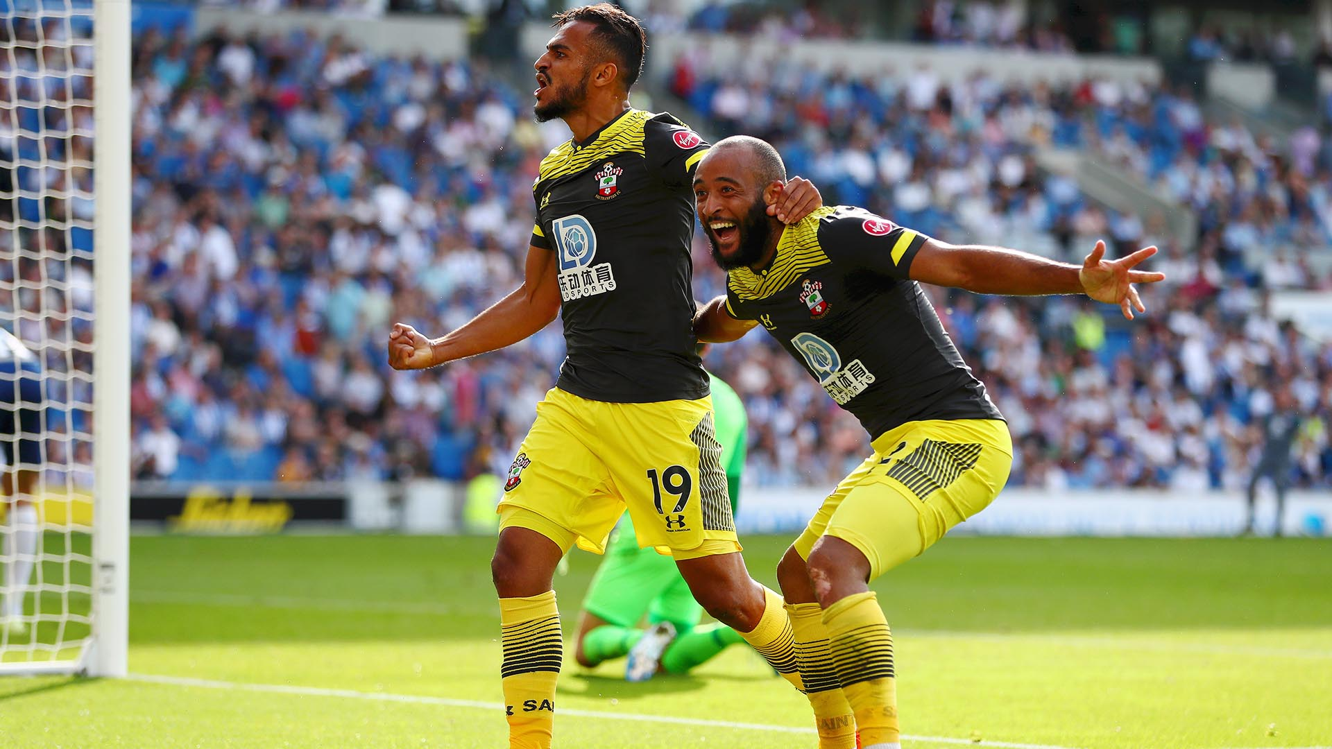Extended highlights: Brighton and Hove Albion 0, Southampton 2