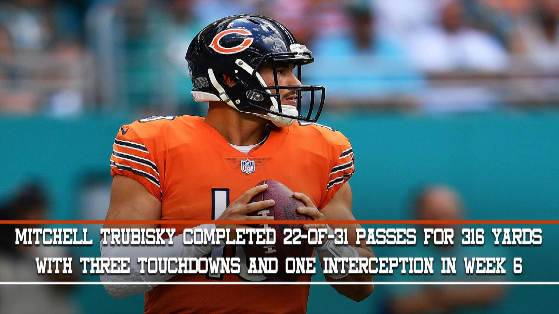 Mitchell Trubisky, Week 7 Fantasy Preview