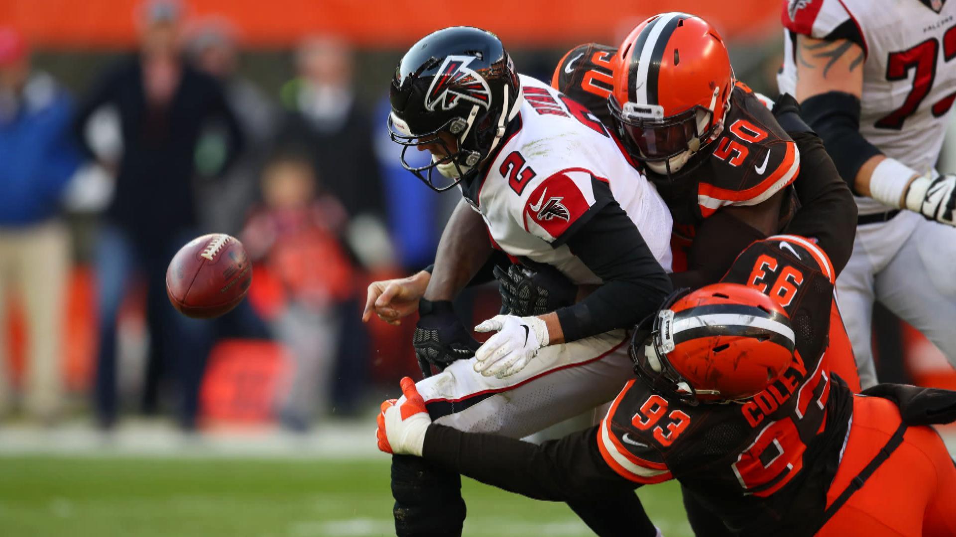 Atlanta Falcons didn't take Cleveland Browns seriously