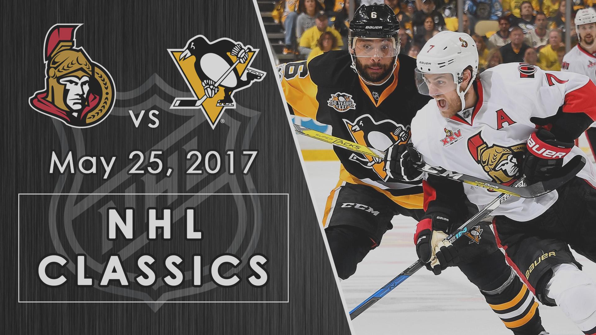 NHL Classics: Penguins take down Senators in double OT of Game 7