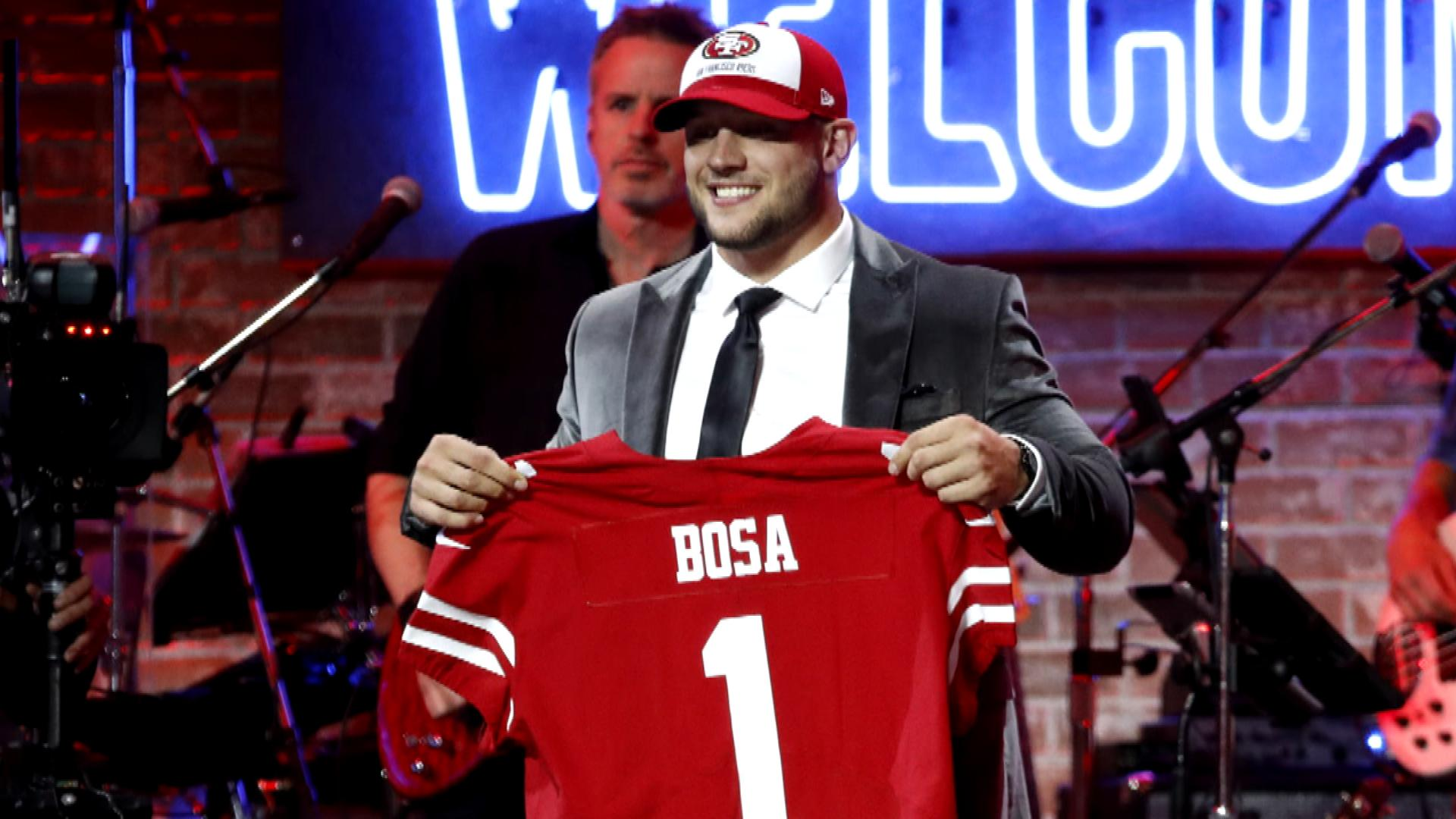 49ers' Nick Bosa may follow in Joey Bosa's footsteps with holdout