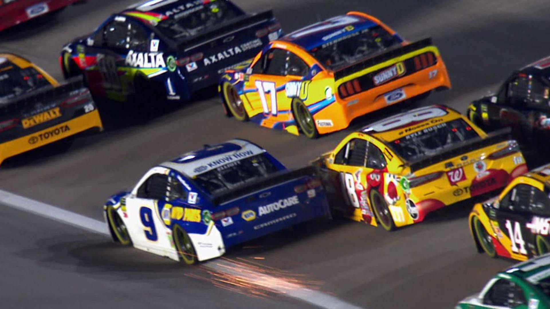 Monster Energy NASCAR Cup Series playoffs head to Kansas Sunday on NBC