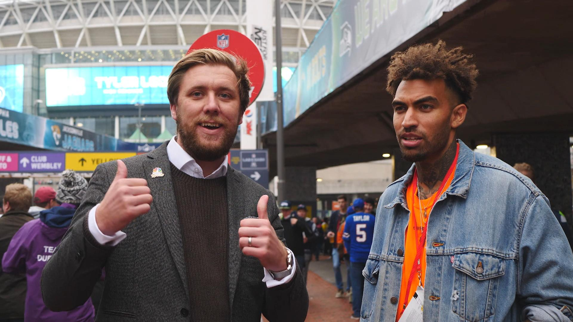 Huddersfield's Danny Williams on his friendship with Odell Beckham Jr.