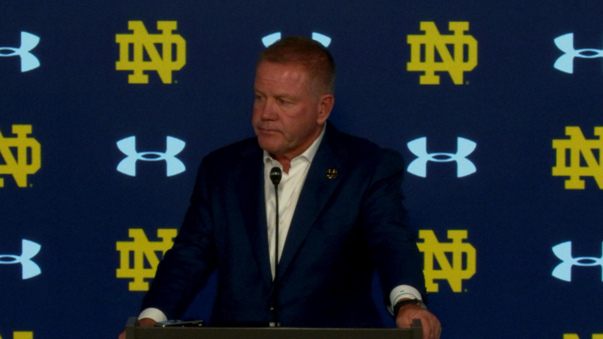 Notre Dame head coach Brian Kelly on 66-14 win vs. New Mexico