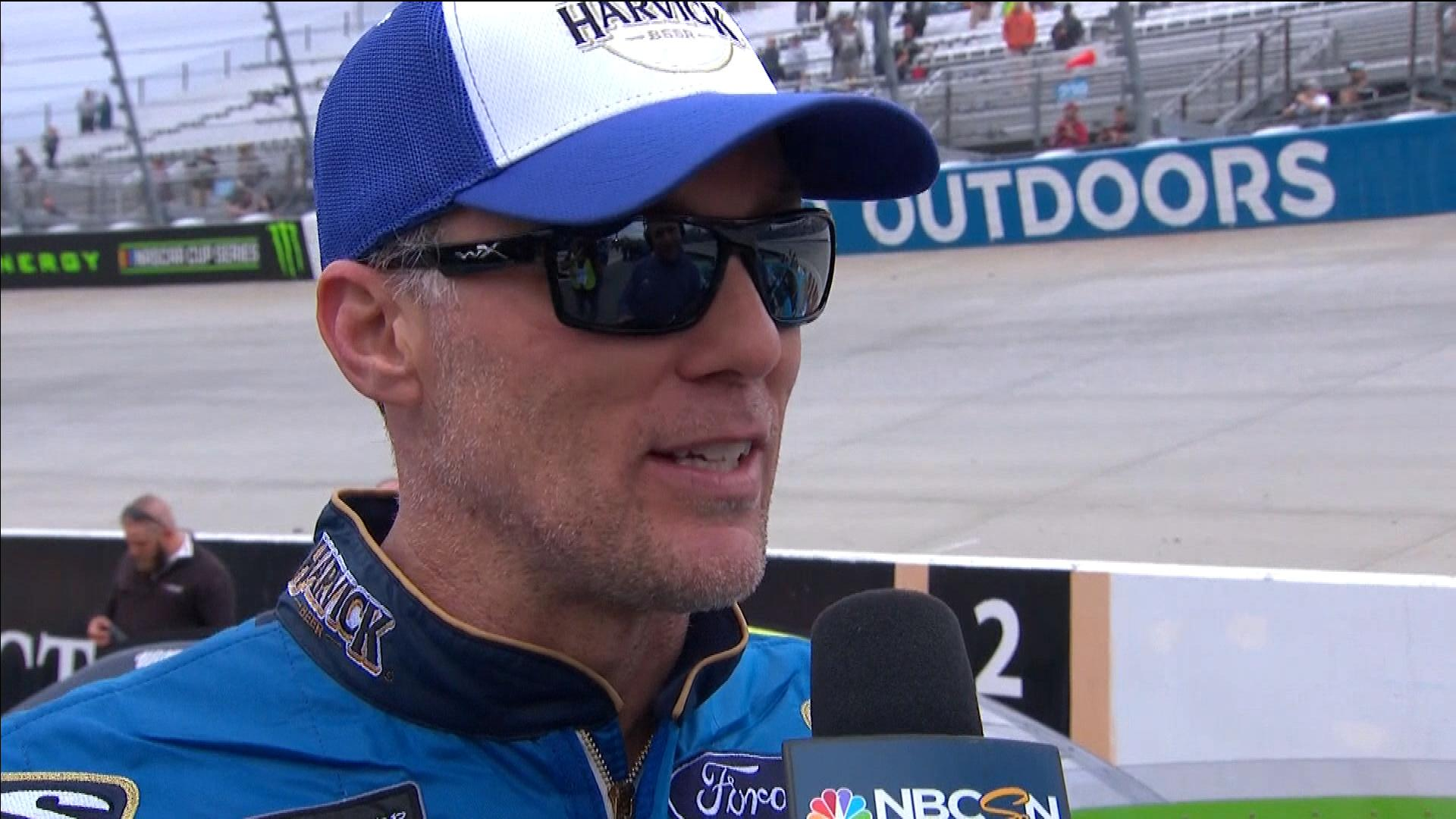 Kevin Harvick endures radio issues during Dover playoff race to end