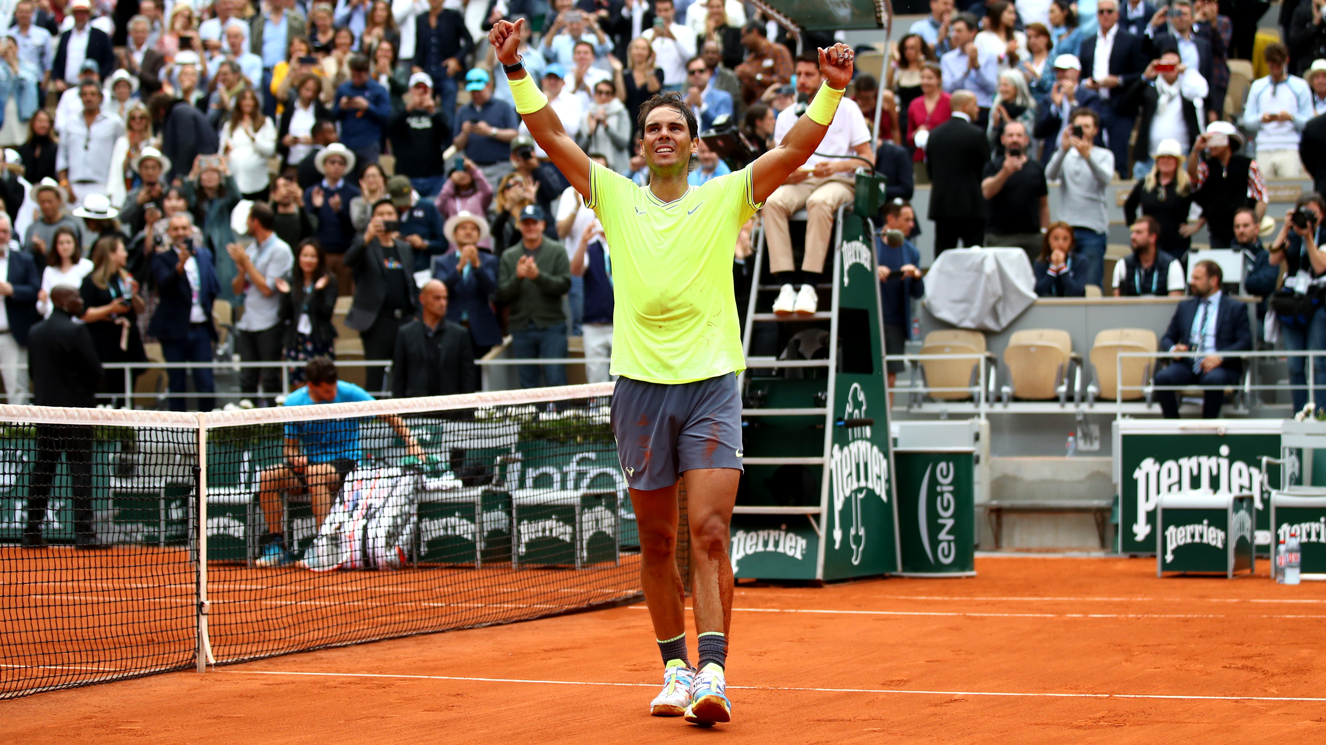 Rafael Nadal Wins 12th French Open Closes In On Roger Federer S Grand Slam Record Olympictalk Nbc Sports