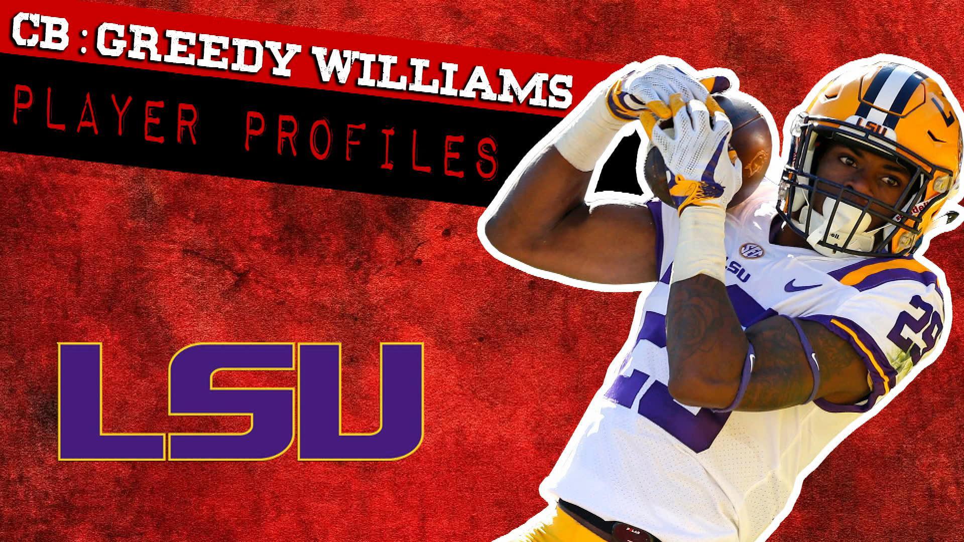 2019 NFL Draft profile: Greedy Williams, LSU
