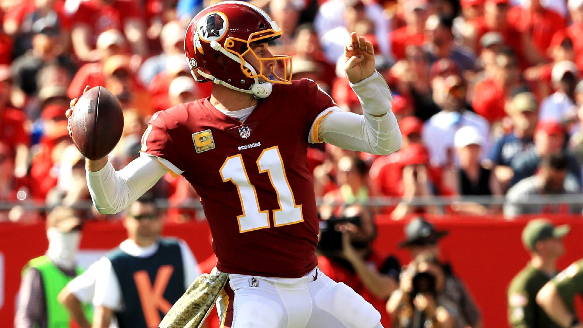 Washington Redskins counting on Alex Smith to mentor quarterbacks