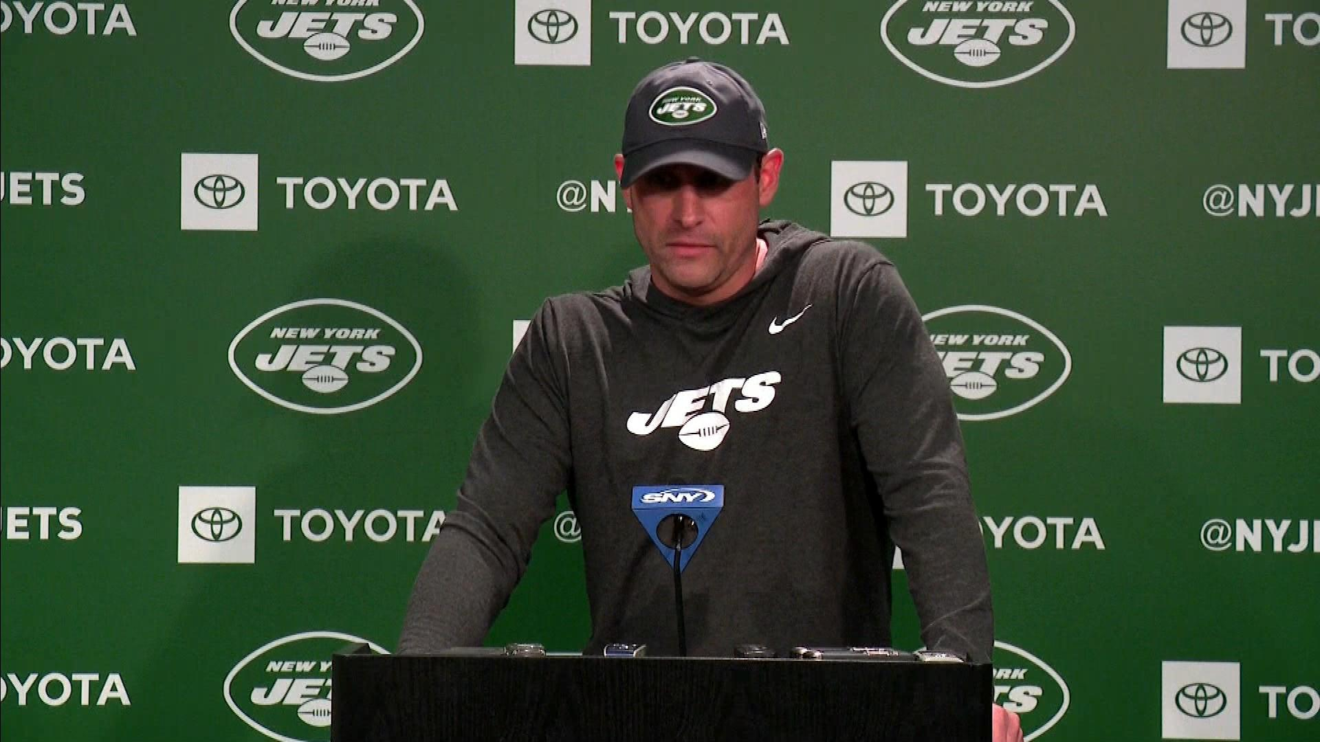 Adam Gase can't be worried about Jets' front office