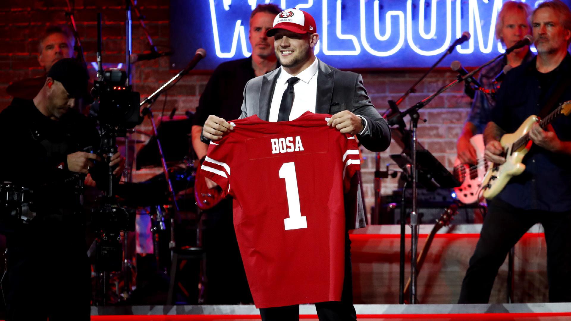 Top NFL rookies banged up include Nick Bosa, Josh Allen