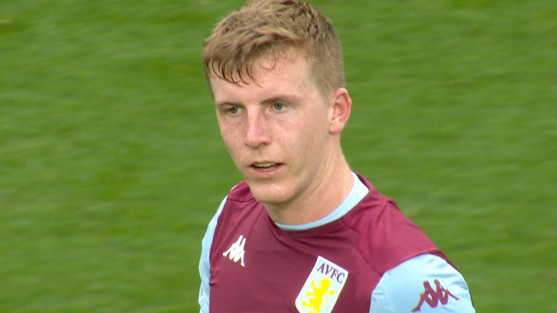 Matt Targett puts Aston Villa ahead v. Brighton