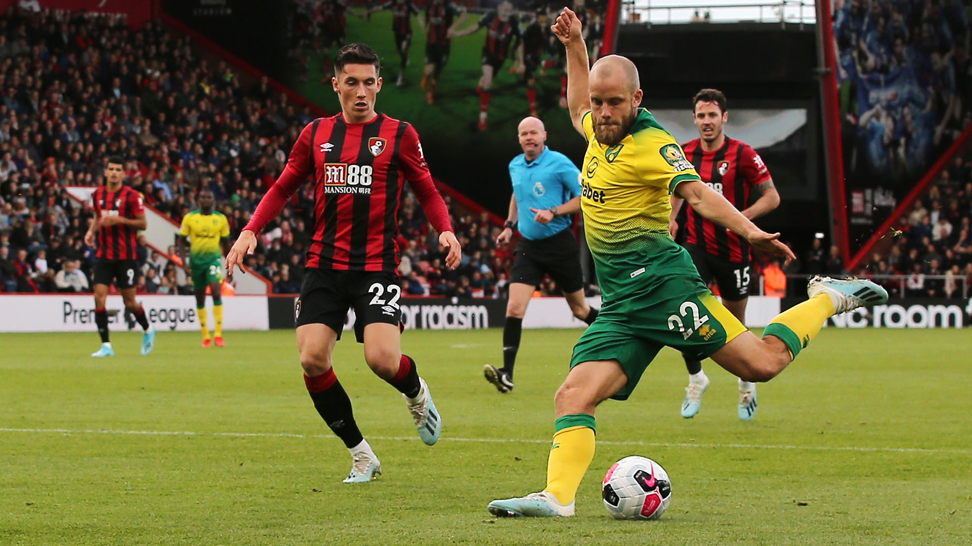 Extended highlights: Bournemouth 0, Norwich City 0