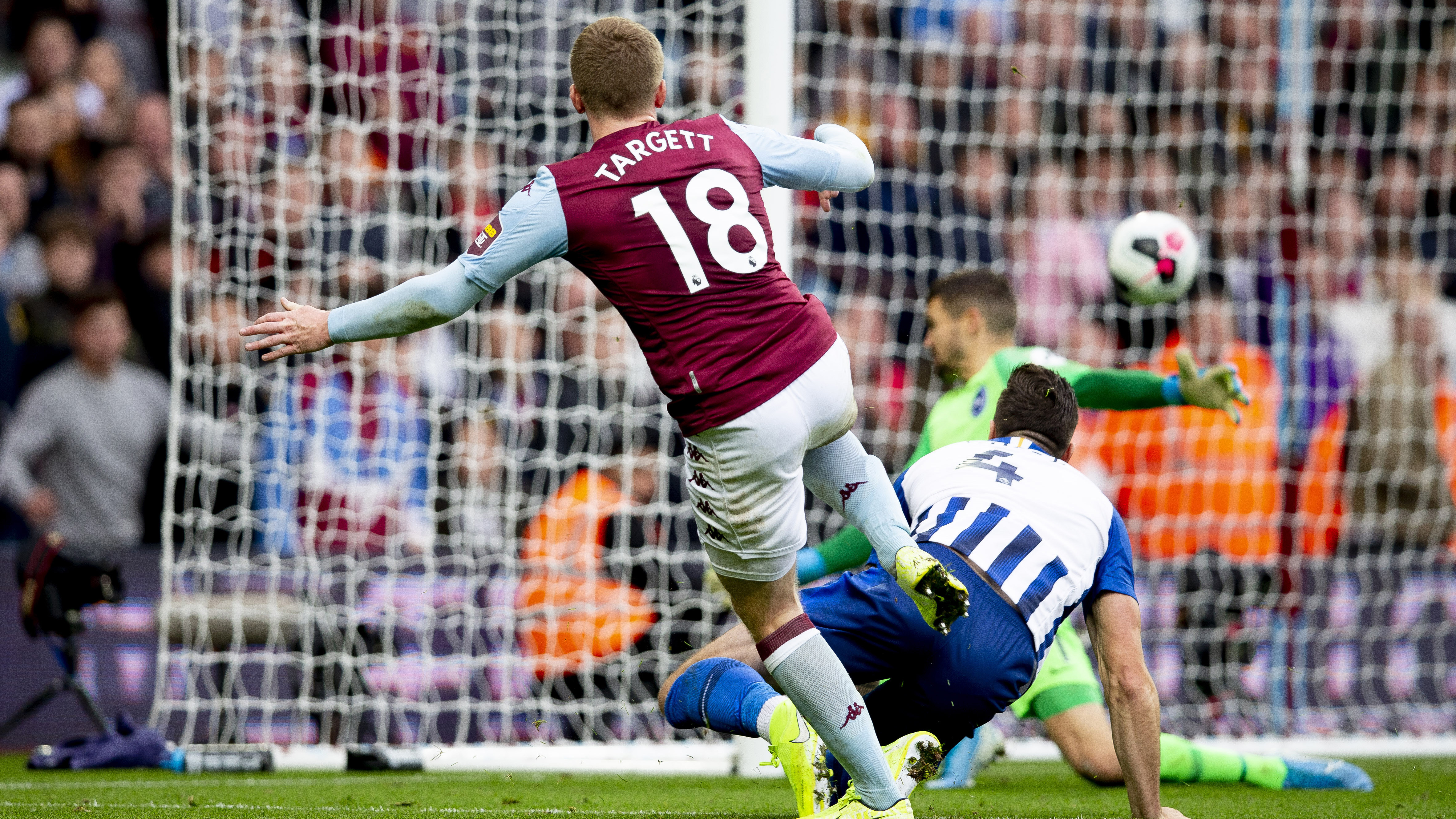 Extended highlights: Aston Villa 2, Brighton and Hove Albion 1