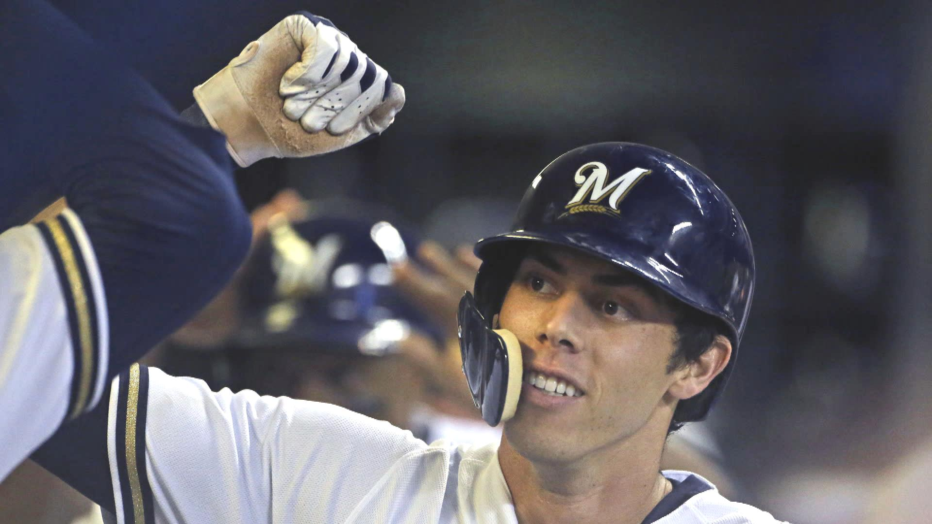 Brewers' Christian Yelich happy to end 2018 season with MVP trophy