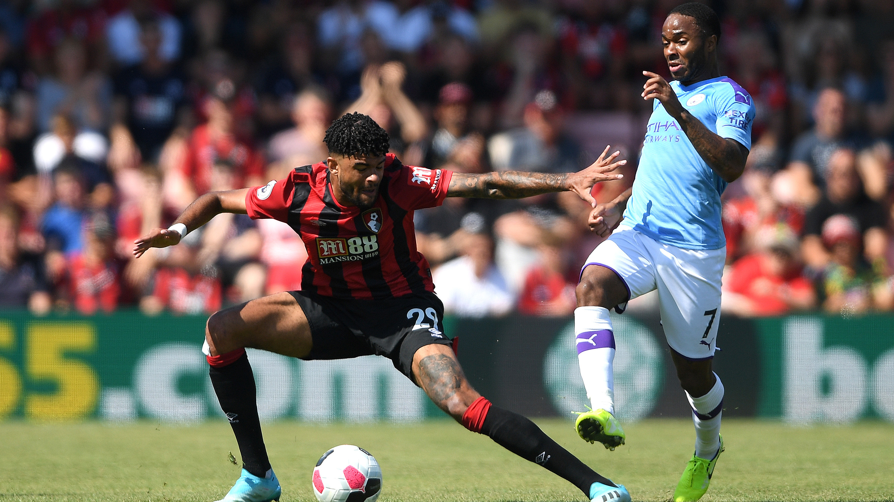 Extended highlights: Bournemouth 1, Manchester City 3