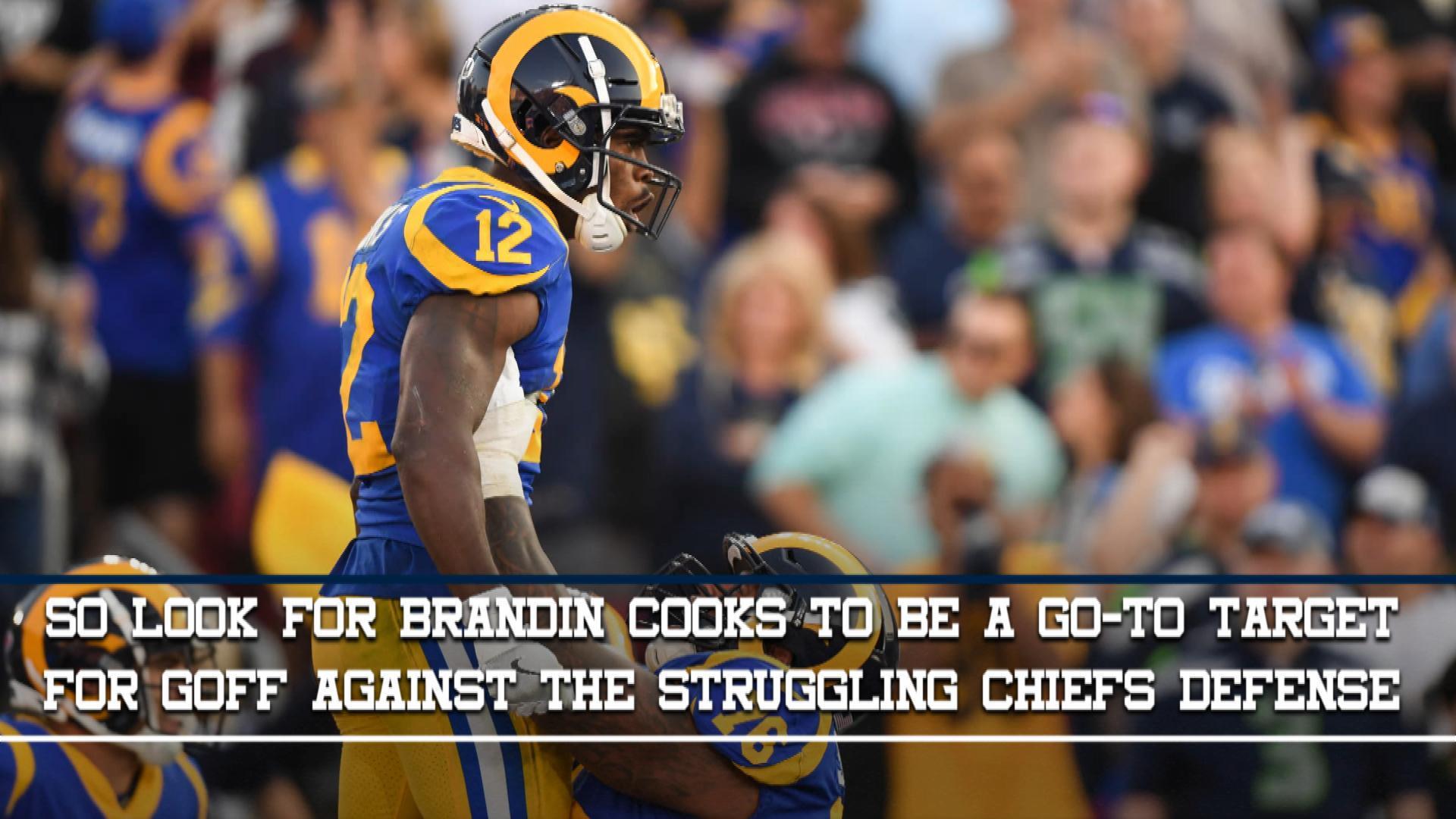 Brandin Cooks, Week 11 Fantasy Preview