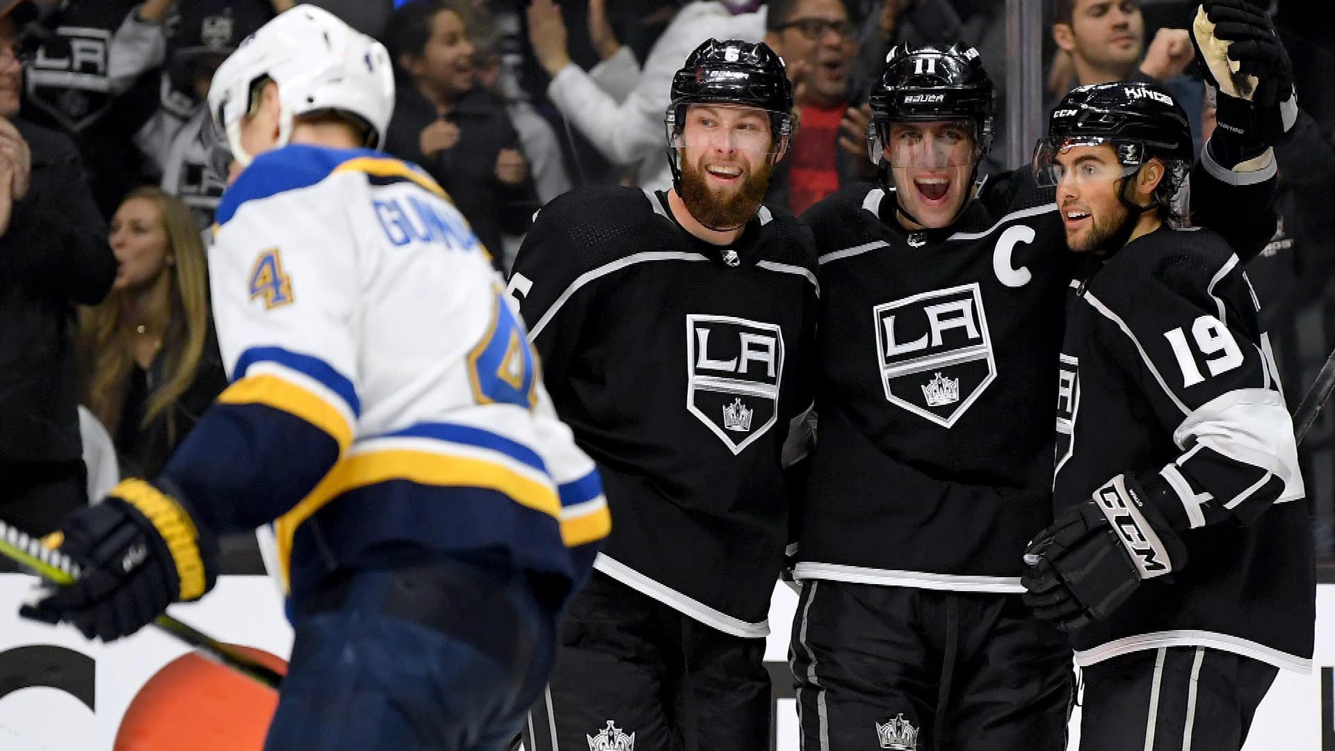 Highlights: Los Angeles Kings 4, St. Louis Blues 3