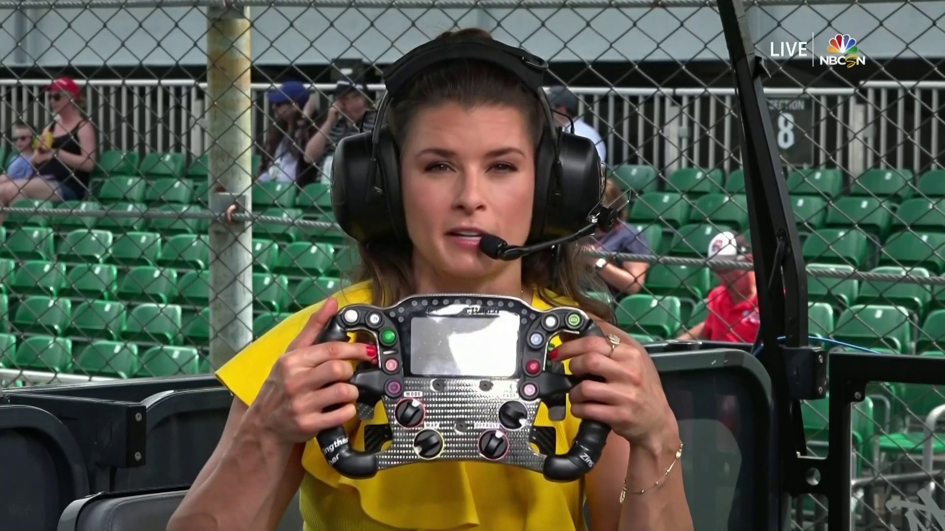Danica Patrick explains complexities, changes to IndyCar steering wheel