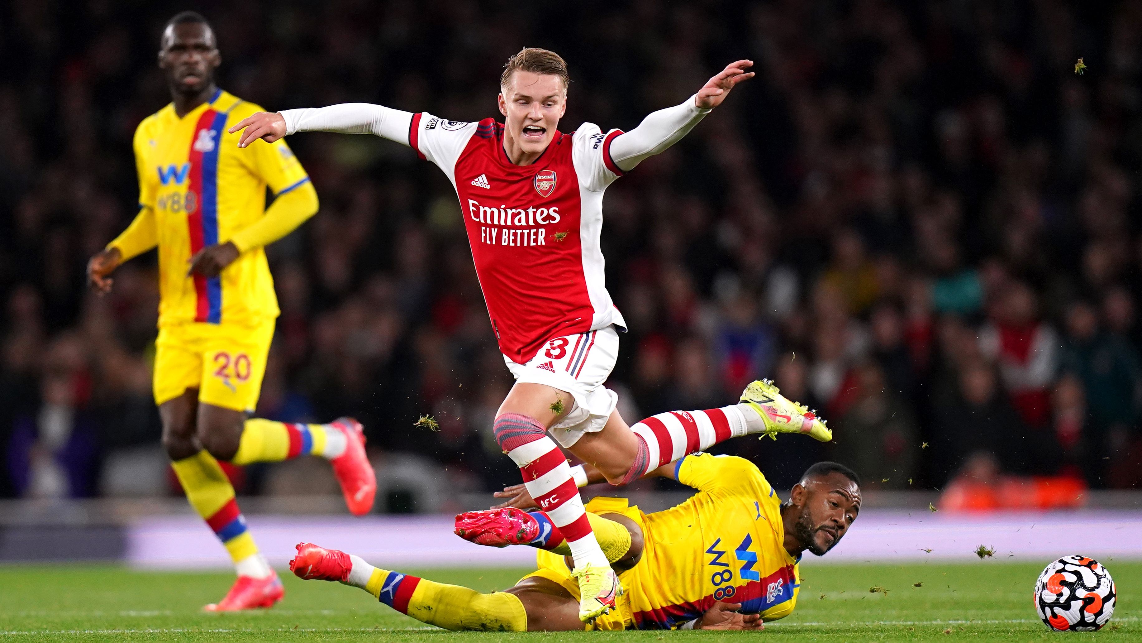 Arsenal vs Crystal Palace final score: Gunners grab point in stoppage time