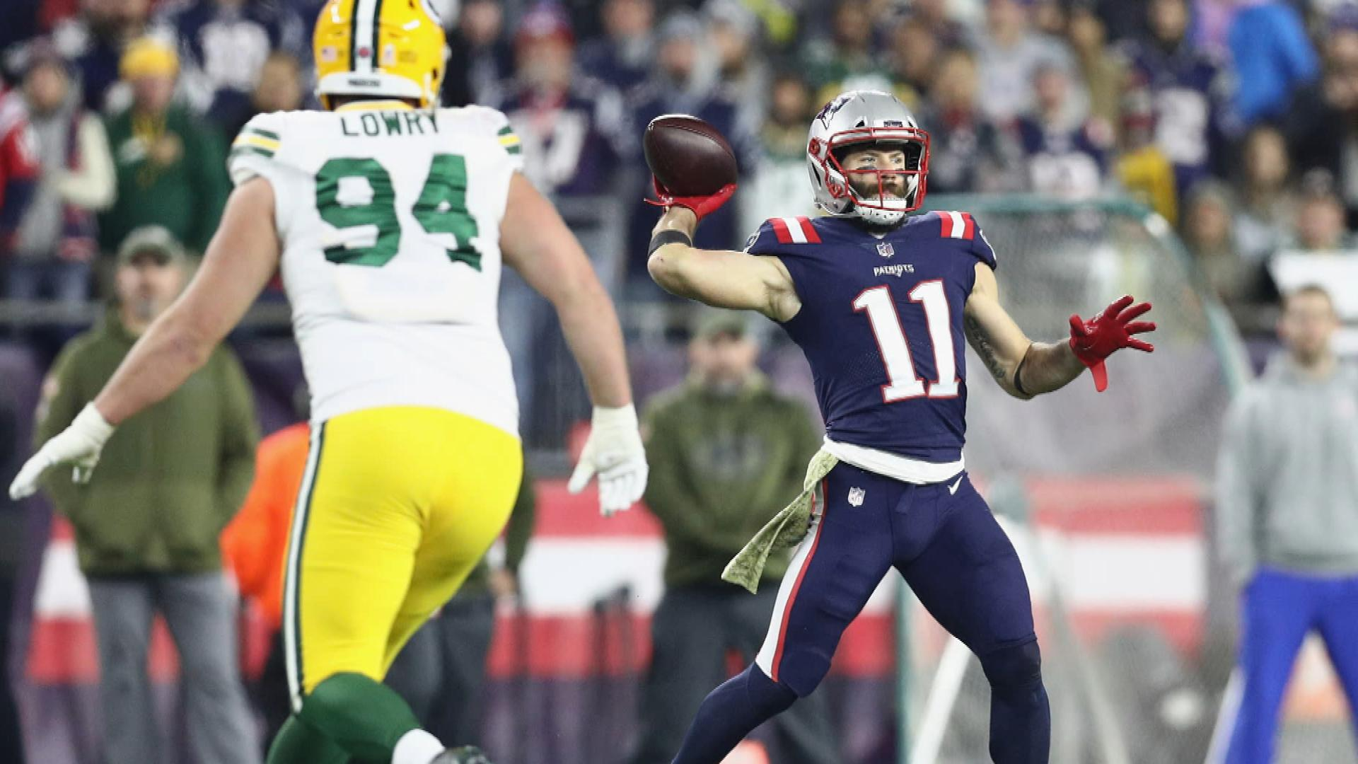 Rest of NFL needs to catch up on trick plays, Chris Simms says