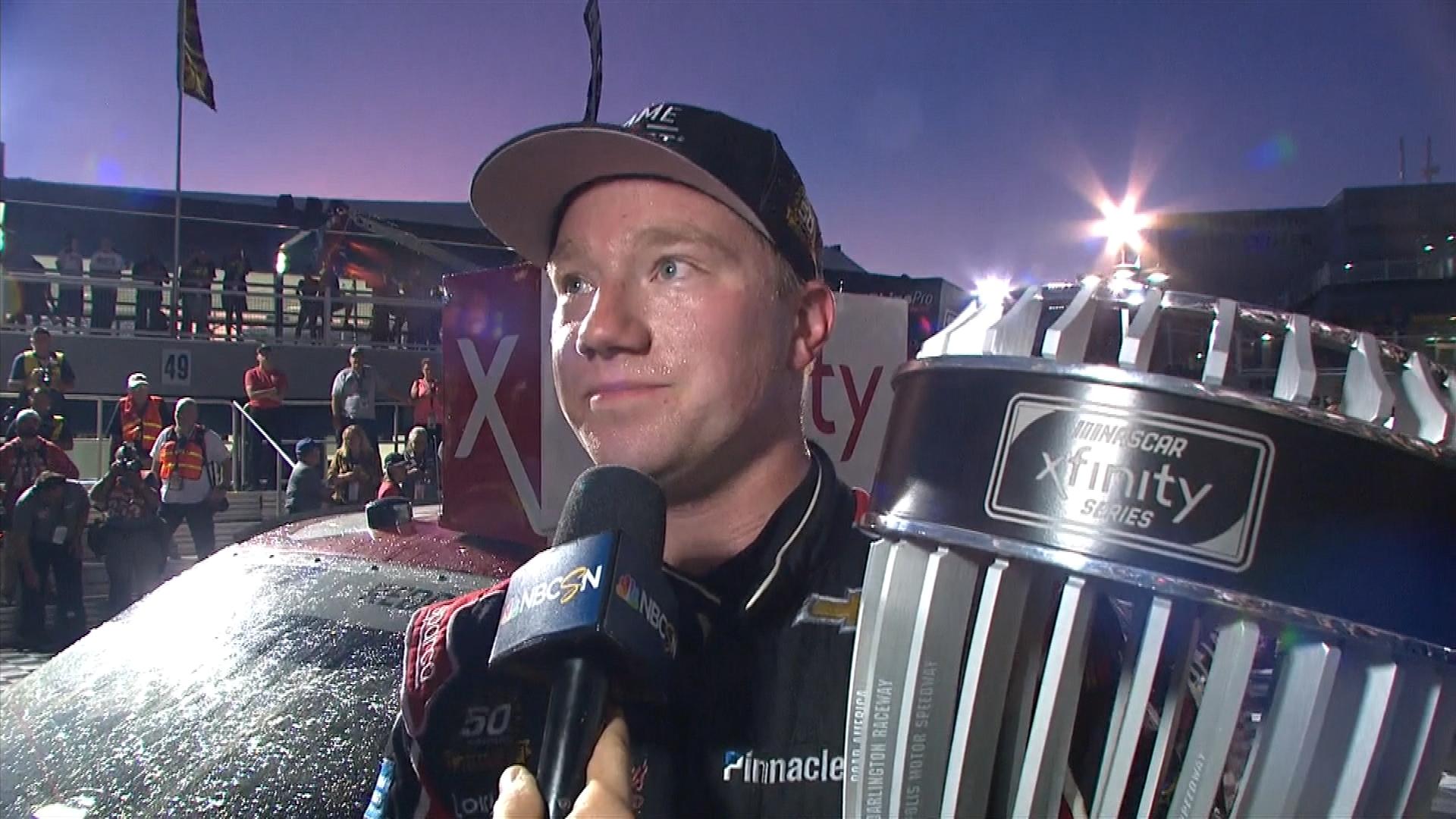 Tyler Reddick talks Xfinity Series regular season championship